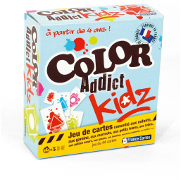 Jeux de cartes  Color Addict Kidz