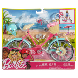 MATTEL A1705551 Barbie bicyclette