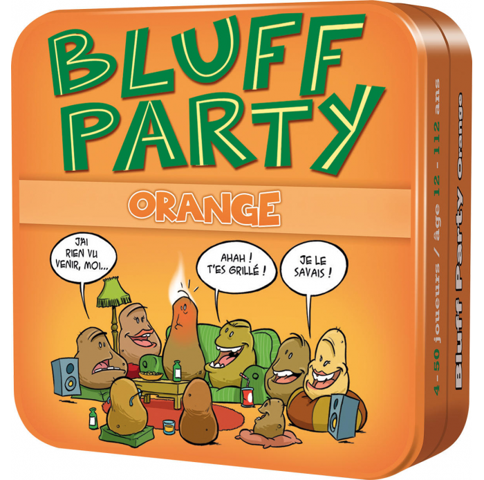 Asmodee A1605250 Bluff Party Orange