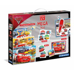 Jeux d'association  Cars 3 - Edukit Mega 7 en 1