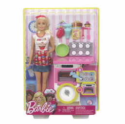 MATTEL A1804466 Barbie coffret patisserie