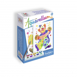 "SENTOSPHERE A1404257 Aquarellum Mini ""clowns"""