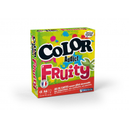 Jeux de cartes  Color addict fruity