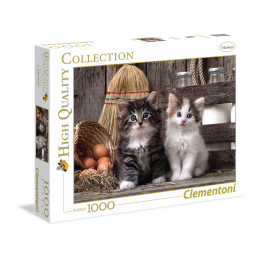 Puzzle 1000 Pièces - Lovely Kittens -  -Puzzles