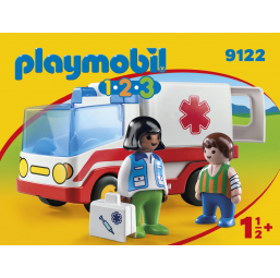 Ambulance - PLAYMOBIL -Figurines, environnements