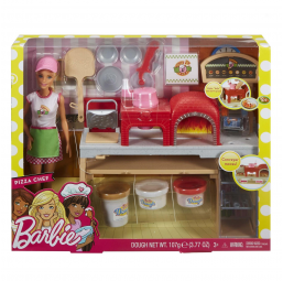 MATTEL A1804468 Coffret barbie pizzeria