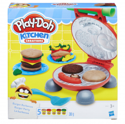 Play-Doh - Burger Party - HASBRO -Moulage et modelage
