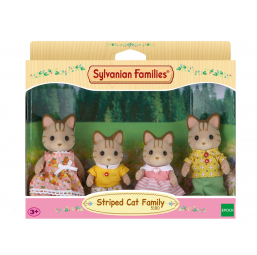 A1504597 Famille chat tigre Sylvanian