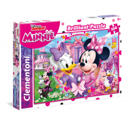 Puzzle 104 pieces Minnie brillant -  -Puzzles
