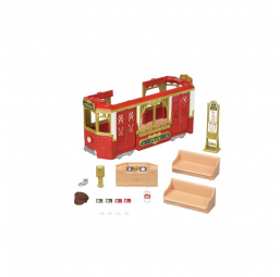 Le tramway Sylvanian -  -Figurines, environnements