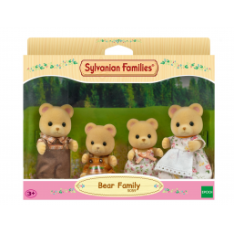 Famille ours Sylvanian -  -Figurines, environnements