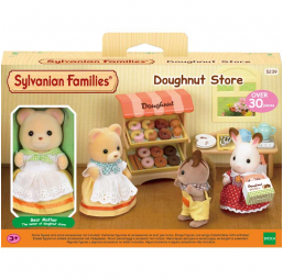 A1804576 Stand Donuts + figurine Sylvanian
