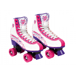 Rollers, skate  Patins roulette pvc rose 36/37
