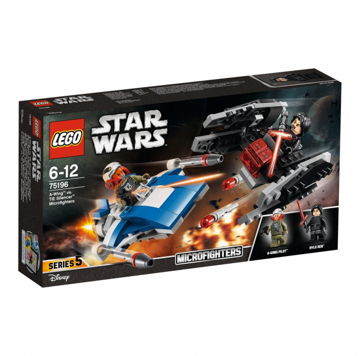 Lego A1802608 Microfighter a-wing™ vs. silencer tie™ - LEGO® star wars™ - 75196
