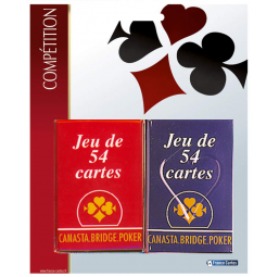 A1601193 2 jeux 54 cartes competition