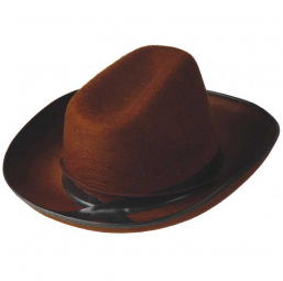 A0702900 Chapeau feutre cow boy marron