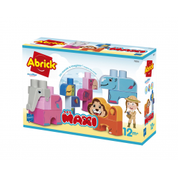 Animaux jungle maxi Abrick -  -Jeux de construction