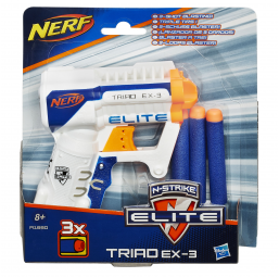 HASBRO A1802168 NERF ELITE TRIAD
