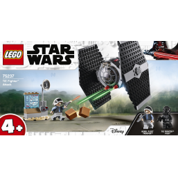 Lego Attaque chasseur Tie Star Wars A1901892 Construction