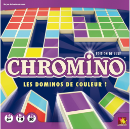 Chromino deluxe - Asmodee -Jeux de stratégie