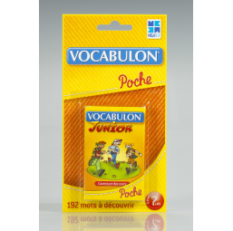 Pocket vocabulon junior -  -Lecture, écriture