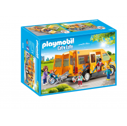 Bus scolaire - PLAYMOBIL -Figurines, environnements