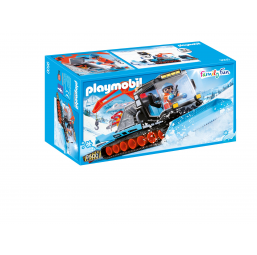 Agent avec chasse neige - PLAYMOBIL -Figurines, environnements