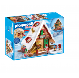 PLAYMOBIL A1901811 Atelier biscuit Noel + moules