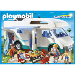 PLAYMOBIL A1601954 Famille avec camping-car