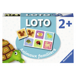 Ravensburger A1901721 Loto Animaux familiers