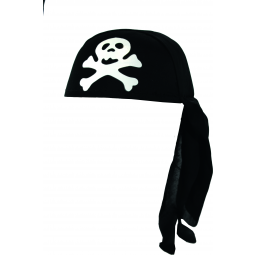 A1901925 Bandana pirate rigide