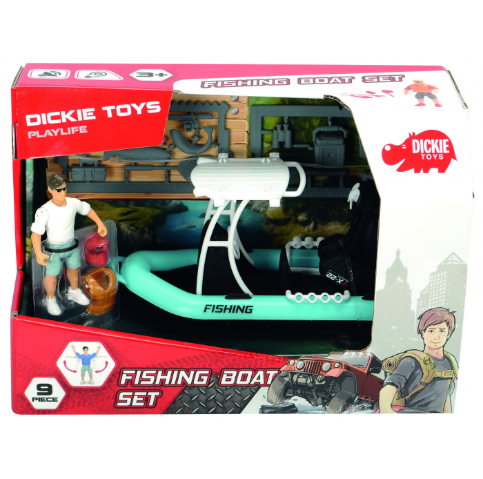 Circuits, véhicules SMOBY Bateau peche Dickie playlife