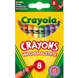 A1505229 8 gros crayons cire lavables