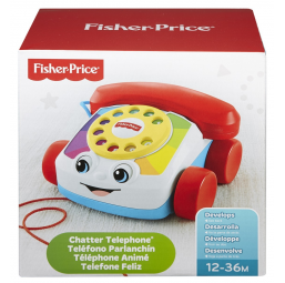 MATTEL A1702532 Fisher-price le telephone animé