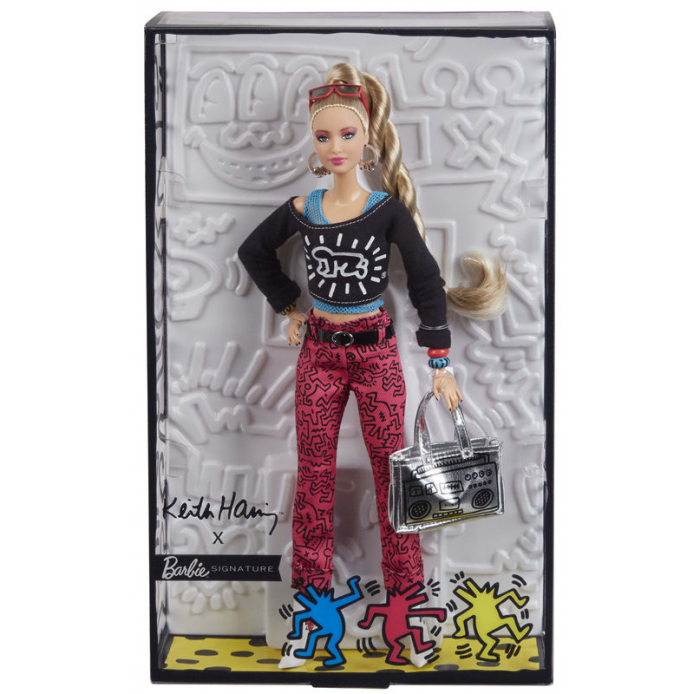 MATTEL A1903774 Barbie keith haring coll
