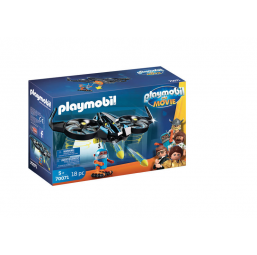 PLAYMOBIL A1903617 Robotitron avec drone movie PLAYMOBIL