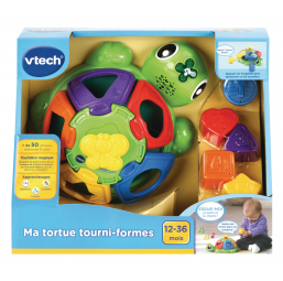 A1903281 Tortue tourni formes