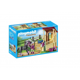 Box avec pur-sang arabe - PLAYMOBIL -Figurines, environnements