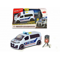 Dickie Citroen tourer police - SMOBY -Circuits, véhicules