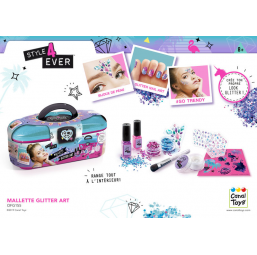 A1902315 Glitter art toolcase