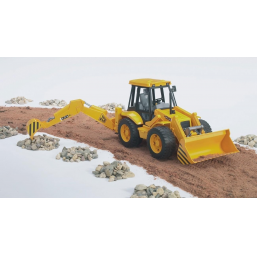 Bruder A9900070 Tractopelle JCB 4cx