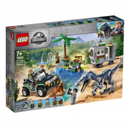 Affrontement du baryonyx Jurassic World - Lego -Jeux de construction