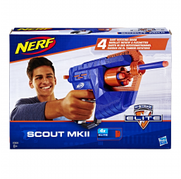 Nerf elite scout MKII - HASBRO -Armes et munitions