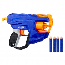 Armes et munitions HASBRO Nerf elite scout MKII