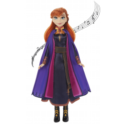 Anna chantante Frozen2 - HASBRO -Figurines, environnements