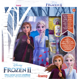Papeterie, écriture  Carnet secret scintillant Frozen 2