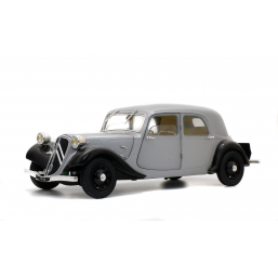 Circuits, véhicules  Citroen Traction 118 silver 37