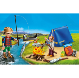 PLAYMOBIL A2001278 Valisette campeurs