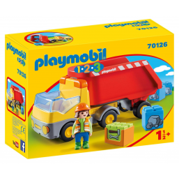 Camion benne 1.2.3 - PLAYMOBIL -Figurines, environnements