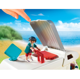 Famille et camping car - PLAYMOBIL -Figurines, environnements